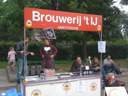 Brouwerij 't IJ Amsterdam - Mobile Bar