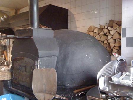 Pizza oven at Forno Communale