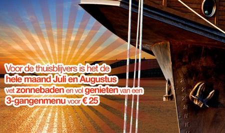 Summer special at De Odessa Amsterdam