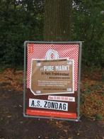 pure markt amsterdam - sign