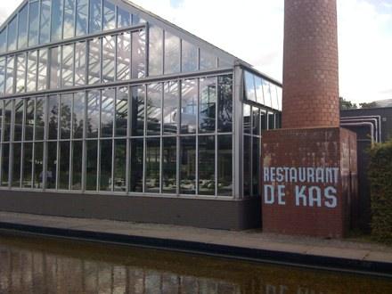 Restaurant de Kas Amsterdam - Dining Room from Outside