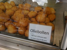 oliebollen - display