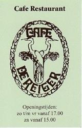 cafe de reiger - business card