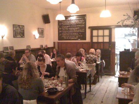 cafe de reiger - dining room