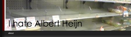 i hate albert heijn blog