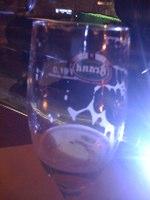 empty beer glass