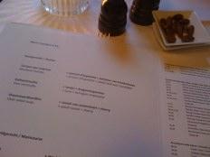 blauw aan de wal amsterdam - three course menu