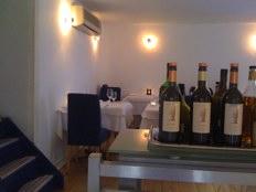 blauw aan de wal amsterdam - upstairs dining room