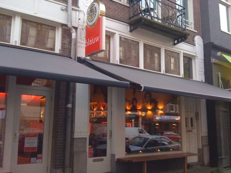 restaurant blauw amsterdam - outside