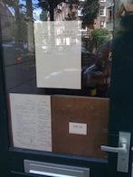 restaurant marius amsterdam - closed sign.JPG