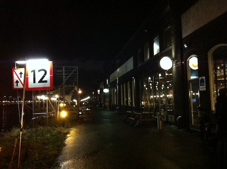 restaurant stork amsterdam - quay