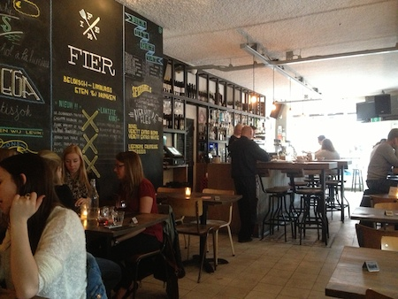 fier dining room and bar